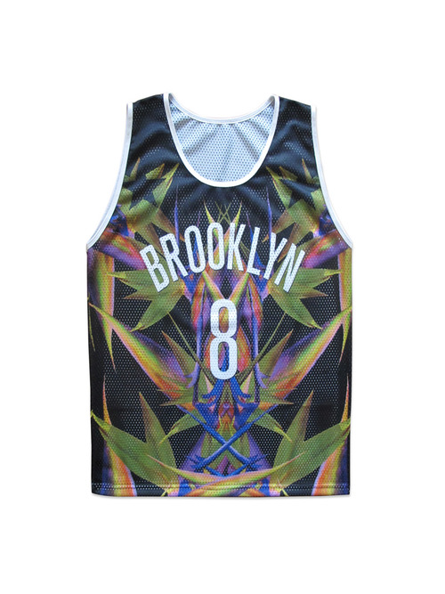 Givenchy Brooklyn Nets Deron Williams Jersey by Wil Fry
