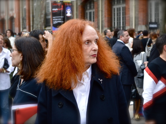 Grace Coddington at Chloé