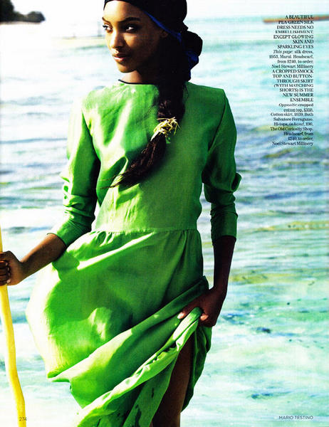Mario Testino for Vogue UK March 2012