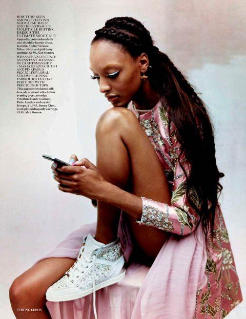 Tyron Lebon for Vogue UK Ocotber 2012